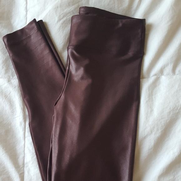 b04eef719f6c2 Koral Activewear Pants   Nwt Koral Lustrous Hi Rise Legging Bordeaux ...